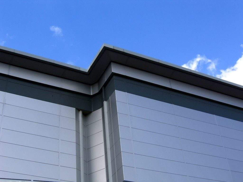 Aluminum building cladding