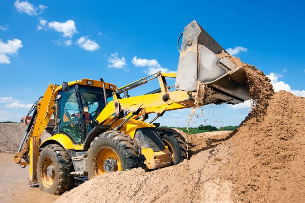 Earth mover in action