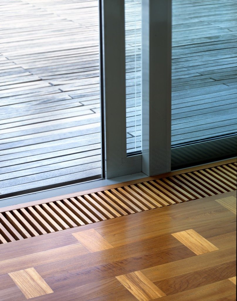 sliding door at home