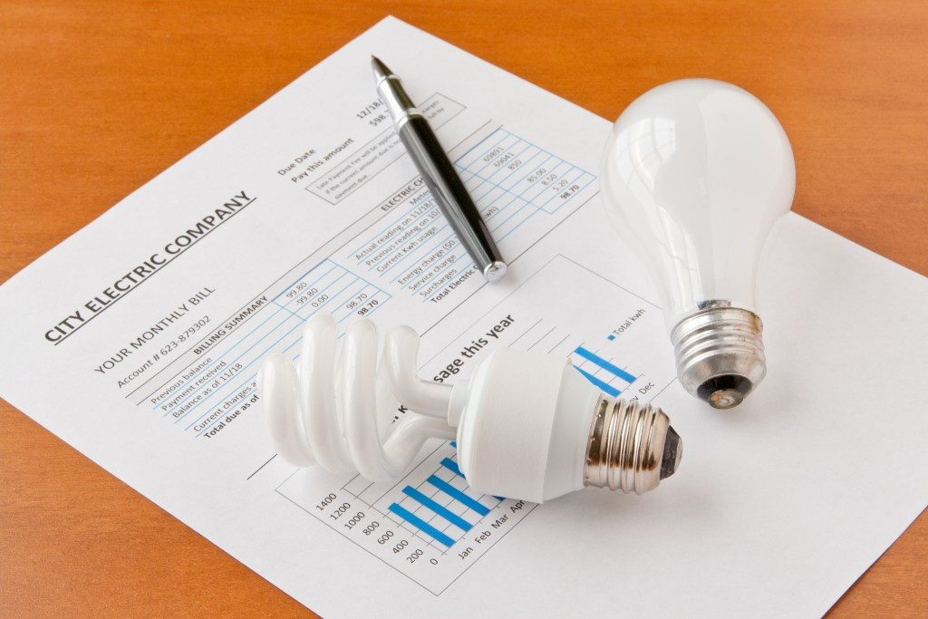 nergy efficient and incandescent bulbs on electric bill