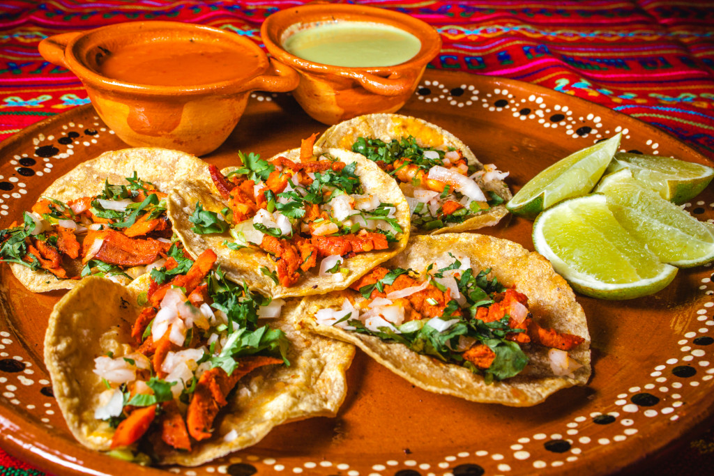 mexican dish on a plate